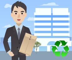 建設リサイクル法の届け出をお客様に代わって責任をもって⾏う