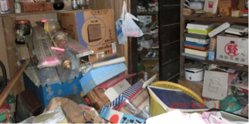 ゴミ屋敷の不⽤品処分り2