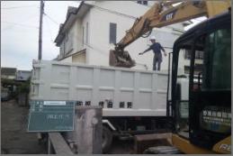 解体工事の流れ8