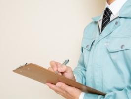 選定された各解体業者が現地調査を行い、正確な見積書を作成します。
