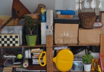 賢い屋内の整理術